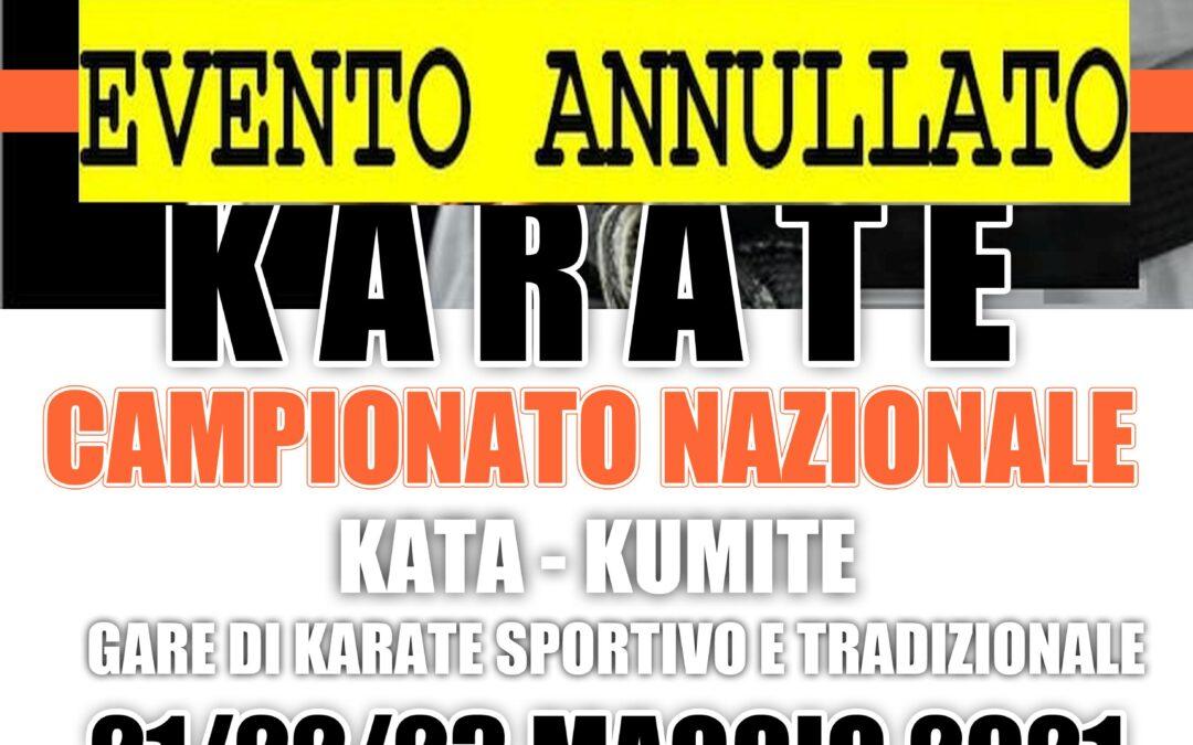 CAMPIONATO NAZIONALE KARATE ASC 2021